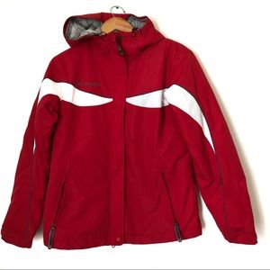 Columbia women's red jacket size M